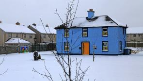 Lovely snow images from around Longford town following Storm Emma