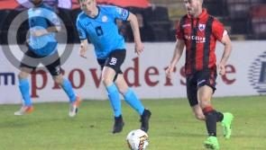 Longford Town in league action against Wexford at City Calling Stadium on Saturday night