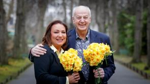 Bobby Kerr and Norah Casey urge companies in Longford to make Daffodil Day their business