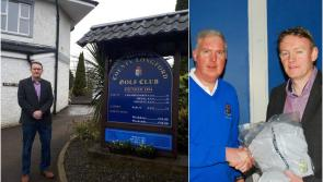 County Longford Golf Club delight as Cllr Micheál Carrigy sinks €50,900 winning putt