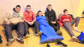 Clock winds down to Longford Sleep out for Simon fundraiser