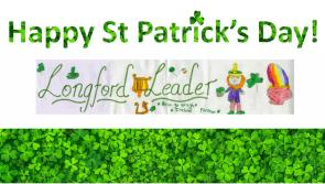 Young Ballinalee artist Zoe Mulligan wins longfordleader.ie St Patrick's Day masthead competition