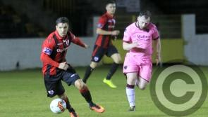 Longford Town face Wexford FC at Ferrycarrig Park