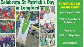 What's on: St Patrick's Day parades in Longford