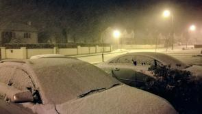 Snow falling in Longford: Met Éireann warns of 'significant snow accumulations' in Leinster
