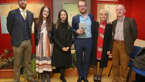 Huge crowd turns up to support Killoe author