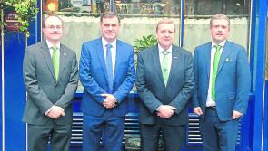 Longford town's Glennon Brothers welcome Minister Pat Breen to Windymains