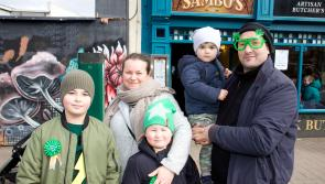 Longford Leader gallery: Colour and variety galore as Longford celebrates St Patrick's Day in style