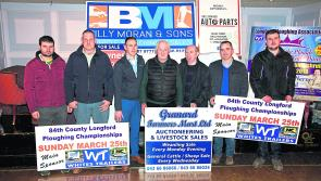 Ploughing on regardless  at the 84th County Longford Championships launch