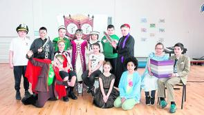 Stonepark NS in  Leinster Final with hilarious production... as Gaeilge