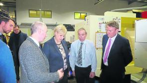 Enterprise Minister takes in visit to Longford engineering firm