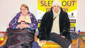 Longford rallies together to Sleep Out for Simon