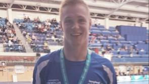 Longford's Gerry Quinn wins a Silver medal in the 200m IM at the Irish Open Swimming Championships