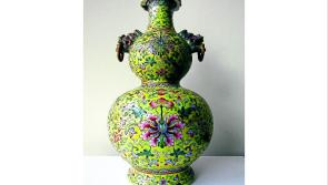 Rare Chinese vase for auction
