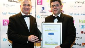 Kilbeggan Races manager Paddy Dunican wins prestigious Athlone Business Person of the Year Award