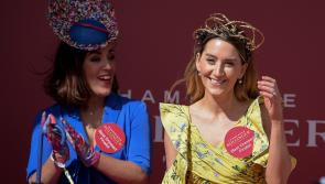 PICTURES: Beautiful Longford ladies step out in style and dominate fashion stakes on Day Two of Punchestown
