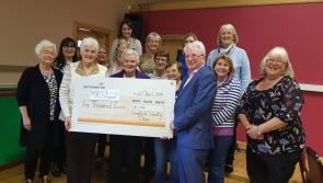 Longford County Choir presents €4,000 to four local charities