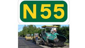 Longford motorists advised to expect delays on N55 between Ballymahon and Carrickboy