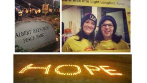 Shining a light on Darkness: Hundreds take part in amazing Longford dawn walk for Pieta House
