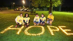 Longford Leader gallery: Large crowds attend Longford Darkness into Light walk at The Mall Complex