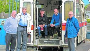 Longford ambulance makes return journey