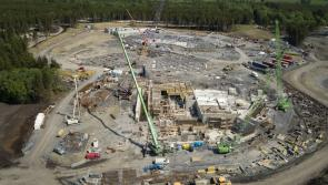 Gallery: Spectacular aerial photographs reveal construction progress at €233m Center Parcs Longford Forest holiday resort