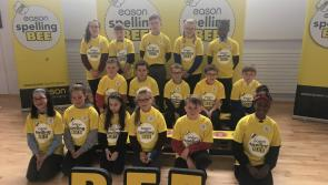Colehill pupil Aisling Lane is Longford Eason Spelling Bee Champion