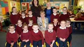 MEP Mairead McGuinness hails Longford national school as being 'big on ambition'