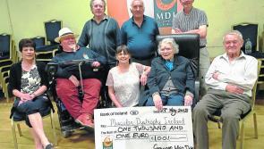 Granard whist drive raises €1,000 for MDI