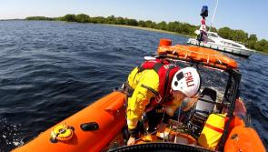 Lough Ree RNLI rescue four tourists from boat stuck on rocks
