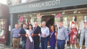 Longford fashionistas revel as Pamela Scott store opens its doors on Dublin Street