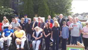 Pictures:  Local campaign highlights 'abuse' of disabled parking spaces in Longford town