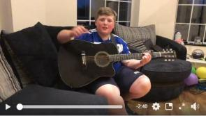 WATCH: Young Laois supporter builds hype with super song  for Laois GAA Leinster final clash with Dublin