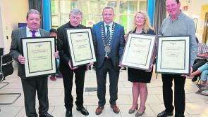 Hard work and dedication recognised at Longford County Council Cathaoirleach awards