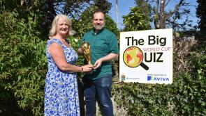 Fancy yourself as a soccer expert? Well here's your chance to win €1,000 in The Big World Cup Quiz