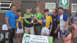 Granard/Ballymore U-14 footballers do Longford proud in winning National Feile title