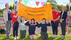 Rathowen teachers and pupils proud to achieve Amber Flag