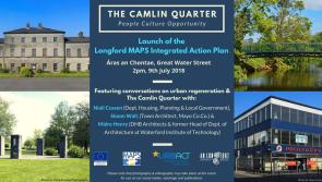 Junior Housing Minister in Longford to set seal on multi million euro Camlin Quarter plan