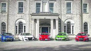 Old School New School motor show for charity to take place in Longford this weekend