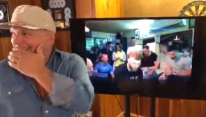 WATCH: Garth Brooks reacts to Mayo GAA star Aidan O'Shea singing 'The River' on the absolute sesh!