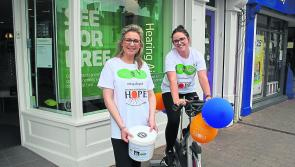 Specsavers Longford static cycle raises €500 for charity