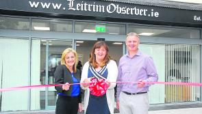 Gallery | Frances Cryan cuts ribbon to mark opening of new Leitrim Observer offices