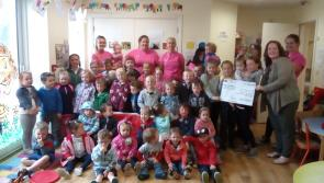 ABC Childcare in Drumlish  raises €1,220 for Barnardos