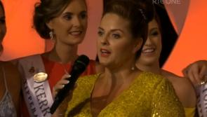 WATCH: Kildare soprano Celine Byrne sings to newly crowned Rose of Tralee