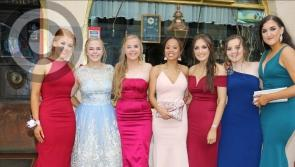 Pictures:  Mean Scoil Mhuire students celebrate the end of another school year with their graduation ball