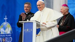 Gallery | Rain fails to dampen enthusiasm of crowd that greets Pope Francis in Knock Shrine