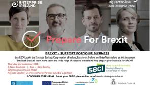 Brexit Breakfast Briefing for Louth Business owners at the Ballymac