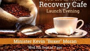 Minister Kevin 'Boxer' Moran to officially open 'Recovery Café' in Longford