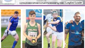Over one thousand votes cast in  poll to determine Ganly's Longford Sports Star of the Month