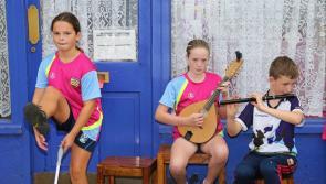 Pictures:  Harp Festival fun in Granard